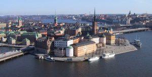 En bild på Gamla Stan i Stockholm