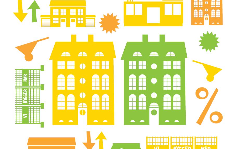 Omslag för bostadsrapporten