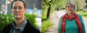Ann-Margarethe Livh och Rikard Warlenius. Foto: Malcolm Jacobson
