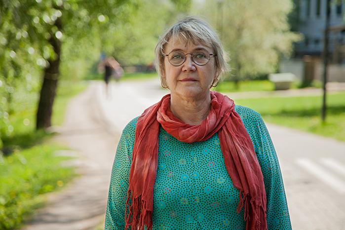 Ann-Margrethe Livh (V). Foto: Malcolm Jacobson