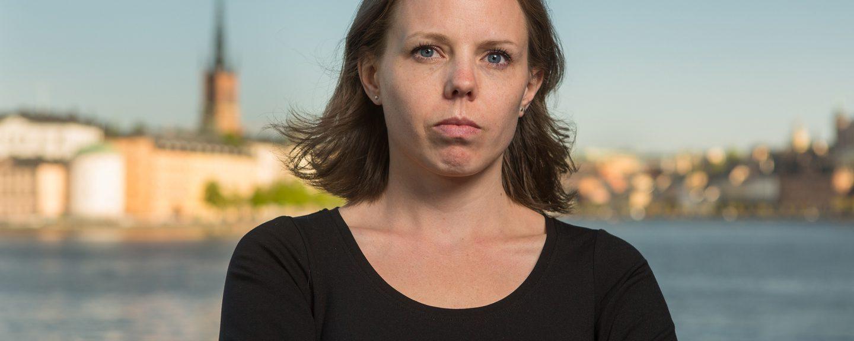 Alexandra Mattsson (V). Foto: Erik Nordblad