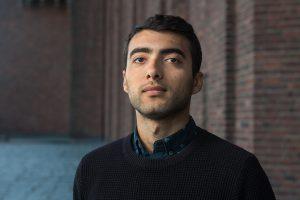 Arvand Mirsafian. Foto: Erik Nordblad