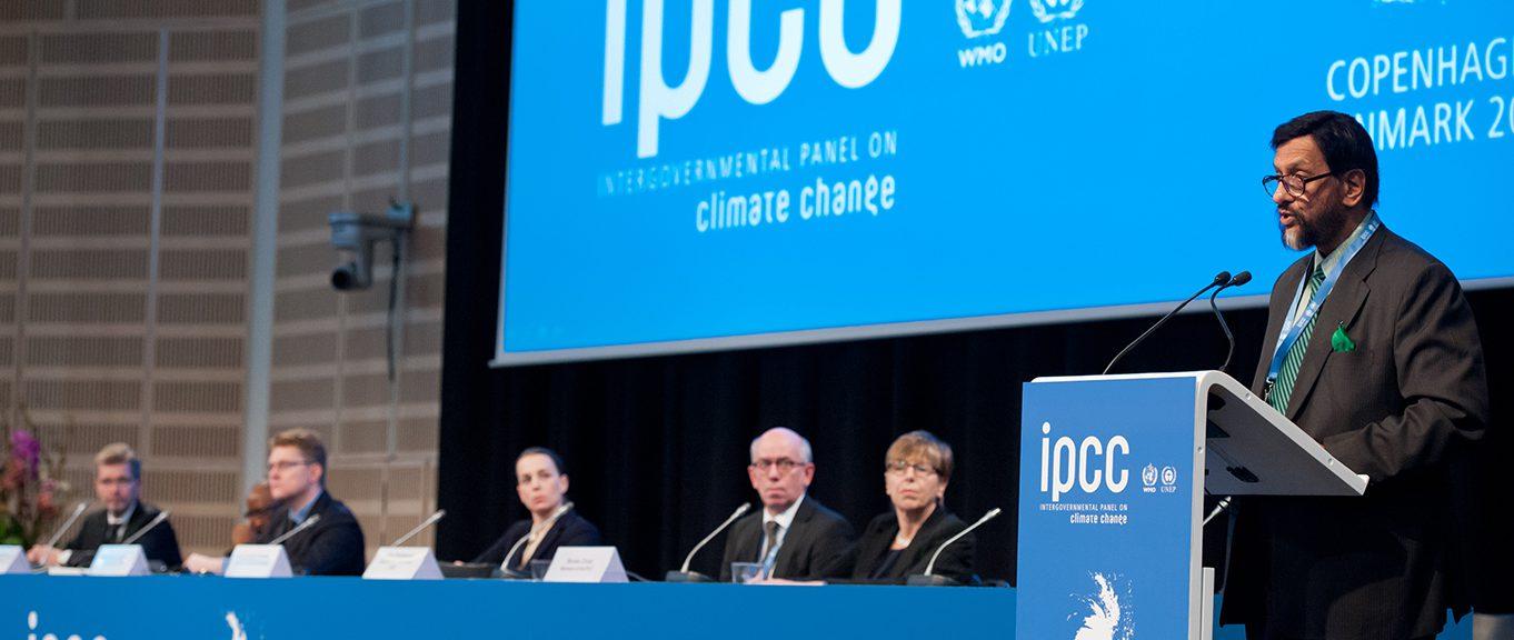 IPCC:s möte i Köpenhamn.