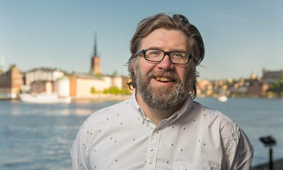 Robert Mjörnberg (V). Foto: Erik Nordblad